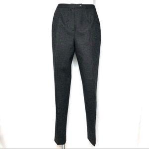 Vintage Harve Benard Sport 100% Wool Gray Trousers